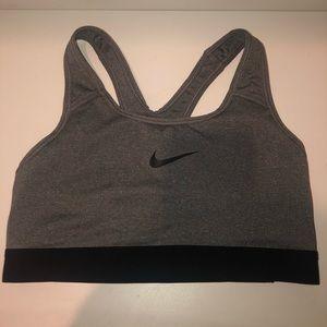 Green Nike dry fit sports bra